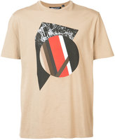 Neil Barrett front print T-shirt - men - Cotton - S