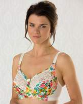 Miss Mary Of Sweden Miss Mary Flower Print Non Wired Bra