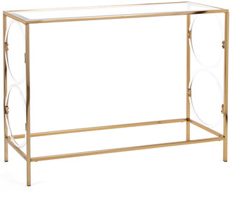 IMAX Worldwide Home Rouvin Acrylic Glass Console Table