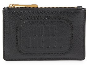 Marc Jacobs Top Zip Multi Leather Card Case