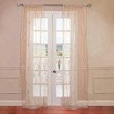 Eff EFF 2-pack Solid Sheer Faux-Organza Window Curtains