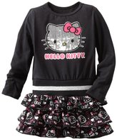 Hello Kitty Baby-girls Infant Metallic Belt On Dress