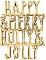 H&M Metal Trivet - Gold-colored