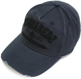 DSQUARED2 logo embroidered cap - men - Cotton - One Size