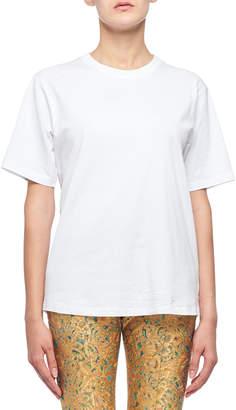 Victoria Beckham Short-Sleeve Oversized Tee