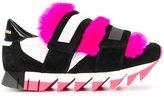 Dolce & Gabbana 'Capri' sneakers - women - Calf Leather/Goat Skin/Lamb Skin/rubber - 35.5