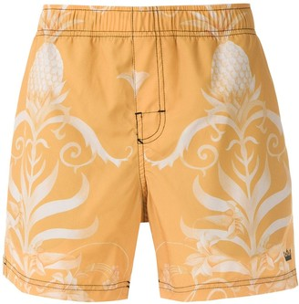 OSKLEN Arabesco print shorts