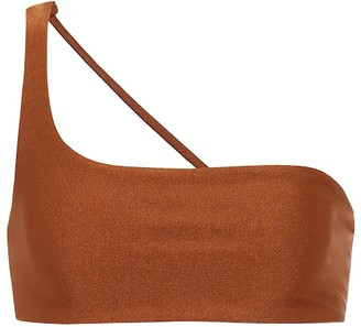 JADE SWIM Exclusive to Mytheresa Apex one-shoulder bikini top