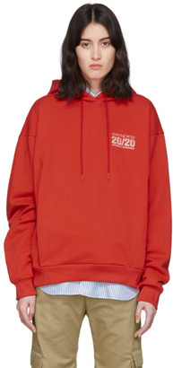 Martine Rose Red Classic Hoodie