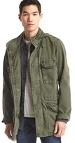Gap Hooded fatigue jacket