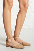 Forever 21 FOREVER 21+ Faux Suede Cat Flats