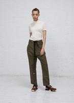 Marni dark olive tl272 trouser