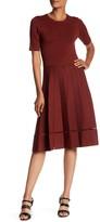 A.L.C. Tracy Pleated Knit Dress