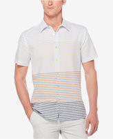 Perry Ellis Men's Multi-Color Engineered Striped Shirt