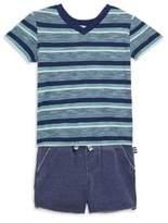 Splendid Baby's V-Neck T-Shirt and Short Set