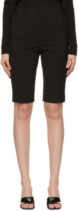 System Black Tailored Shorts