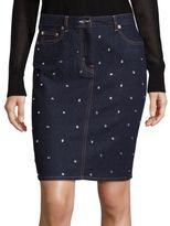 Sonia by Sonia Rykiel Five-Pocket Studded Skirt