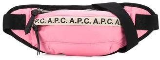 A.P.C. Logo Print Belt Bag