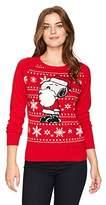 Hybrid Apparel Women's Santa Snoopy Holiday Sweater