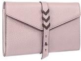 Mackage Atlas Pebble Leather Envelope Wallet In Blush