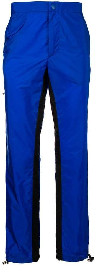 Prada panelled trousers