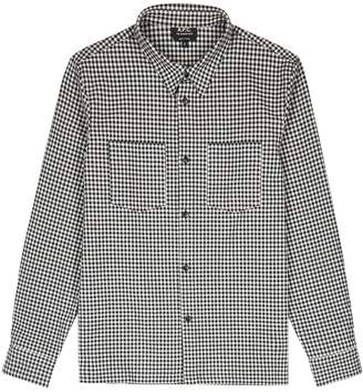 A.P.C. Codaf Checked Cotton-blend Shirt