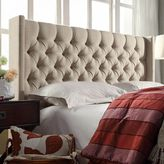 HomeVance Stanford Heights Tufted Wingback Headboard