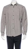 Billy Reid Plaid Button-Up Shirt