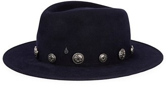Maison Michel Thadee Star Stud Felt Panama Hat