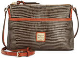 Dooney & Bourke Lizard-Embossed Ginger Crossbody, Created for Macy's