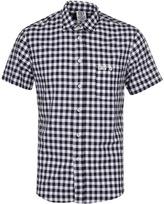 Franklin & Marshall Black Gingham Check Shirt