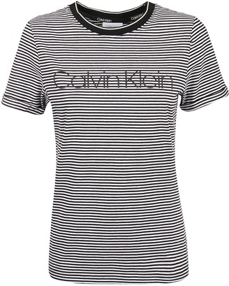 Calvin Klein Collection T-shirt Thin Stripe Logo