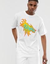 Cheap Monday flame t-shirt