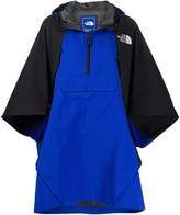 The North Face colour-block rain coat