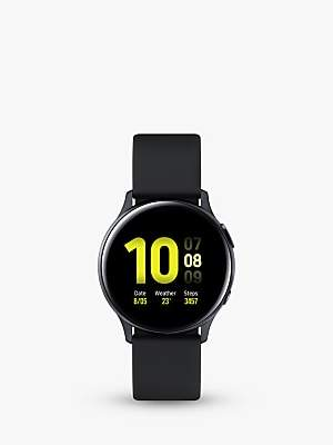 Samsung Galaxy Watch Active2, Bluetooth, 44mm, Aluminium with Silicone Strap