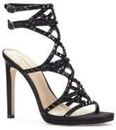 Vince Camuto Imagine Galvin – Embellished Double-buckle Sandal