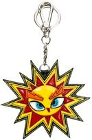 DSQUARED2 sun shaped keyring - women - Calf Leather/metal - One Size