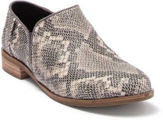 Toms Shaye Snakeskin Embossed Leather Loafer