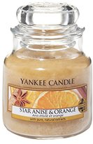Yankee Candle Star Anise and Orange Jar Candle - Small