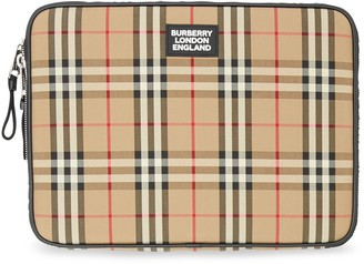Burberry Vintage Check zipped pouch