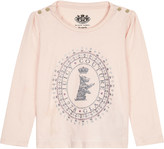 Juicy Couture Glitter Scottie dog print long-sleeved cotton top 3-24 months