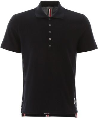 Thom Browne RWB Striped Polo Shirt