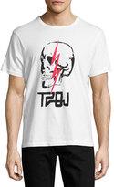 True Religion Sinners & Saints Skull T-Shirt, White