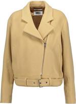 MM6 MAISON MARGIELA Belted wool-blend jacket