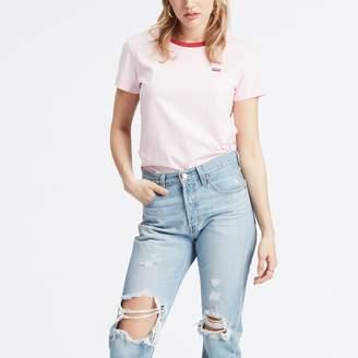 Levi's The Perfect Tee Cotton Logo Print T-Shirt