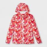 Hunter for Target Kids' Abstract Print Packable Rain Coat - Pink