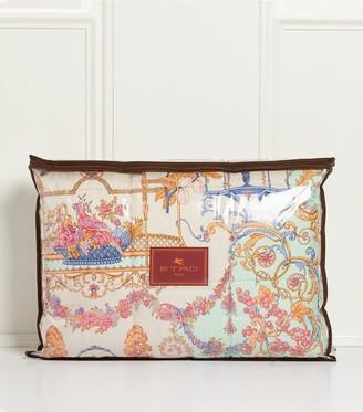 Etro Floral Print Double Bedspread (270cm x 270cm)