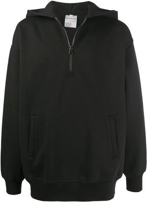 Acne Studios Half-Zip Hooded Sweatshirt