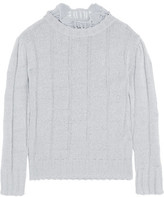 Vivienne Westwood Ruffled Stretch-Knit Top