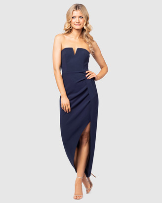 Pilgrim Women's Navy Maxi dresses - Romy Dress - Size One Size, 14 at The Iconic